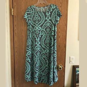 Bellamie Boutique Dress- damask style